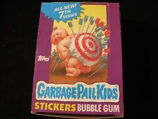 Garbage Pail Kids 7th Series Box - 48 Sealed Packs - Promotional Poster