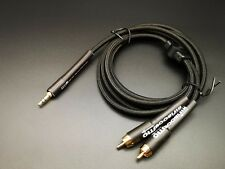 2meter Mini To RCA 3.5mm 2 RCA Audio Cable aux stereo copper