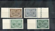 GENERAL GOV'T(OCC OF POLAND) Sc NO1-4,9,11-2(MI D1-4,9,11-2)**F-VF NH MARGIN $30