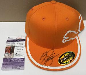 Rickie Fowler Signed Orange Puma Golf Hat JSA Coa Nice Item For Golf Fan