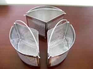 Saucepan separators, steamer baskets, dividers  Set of 3   Boxed Mason and White