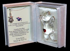 Graduation gift for her, poem box and Owl necklace keepsake by Cellini gifts #7