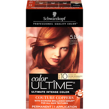 Schwarzkopf Color Ultime Hair Color Cream, 5.84 Chocolate Copper Packaging May