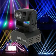 10W DMX512 RGBW 14CH LED Moving Head Light DJ Disco Club Show Stage Lighting