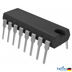 CD4051 CD4051BE 4051 CMOS MULTIPLEX/DEMULTIPLEXER DIP-16 Arduino Raspberry PI