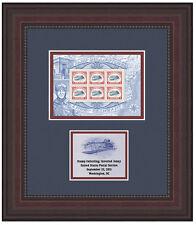 USPS New Stamp Collecting: Inverted Jenny Stamp Framed Art