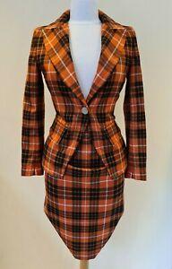 Vivienne Westwood Tartan Skirt and Jacket Size 40 Skirt Size 42