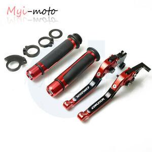 For Honda CBR250R 2011-2013 Adjustable Foldable Brake Clutch Lever Handle Grips