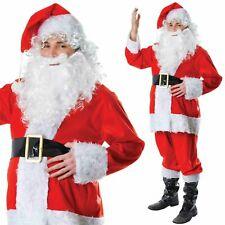 Père Noël Déguisement Père Noël Déguisement Noël Costume Tenue Adulte Hommes