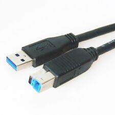 0,25m USB 3.0 Anschluss-Kabel Typ A/B Stecker Superspeed 5 GB/s 25cm kurz