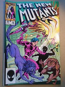 NEW MUTANTS #16 1st Warpath Marvel Comics 1984 VF-