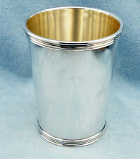 """Vintage Sterling Silver Mint Julep Cup """"P 699"""" by International, No Monogram"""