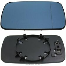 Mirror Glass BMW e46 e39 Right Left Mirror asphärisch BLUE HEATED