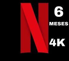 Plataforma Netflix Medio Año - 1 Usuario (Precios Reales En Descripción,LEER!!)