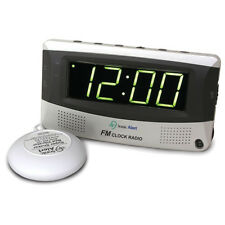 Sonic Bomb SBR350SS Alarm Clock with AM / FM Radio & Bed Shaker