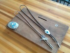 BOLO TIES AND BELT BUCKLE