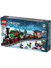 Lego Creator - Winter Holiday Train - 10254 - Brand New & Sealed
