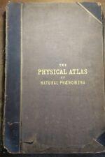 1848 The Physical Atlas of Natural Phenomena Maps AK Johnston 30 Maps