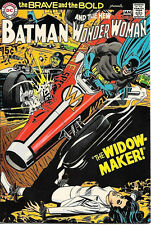 The Brave and the Bold Comic Book #87, DC Batman and Wonder Woman 1970 VERY FINE