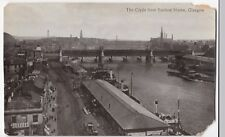 Glasgow; The Clyde From Sailors Home PPC, Unposted, By Valentines, Faults