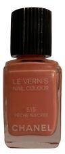 NEW! CHANEL Le Vernis # 515 Peche Nacre Nail Colour / Polish / Lacquer Brand New