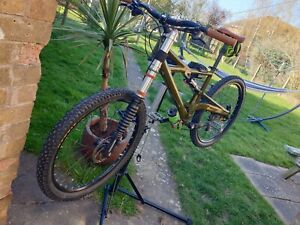 Handmade Cannondale Lefty Prophet  Mountainbike XC FR.  With extras.