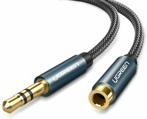 15 Feet 3.5mm Headphone Stereo Audio Extension Cable With Gold Plated Connectors