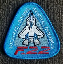 USAF RAPTOR FIGHTER JET AIR FORCE F-22 COMBINED TEST FORCE PATCH