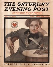 1907 Saturday Evening Post July 20 - J C Leyendecker - The Young Lawyer; Chicago