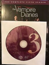 The Vampire Diaries - Season 5, Disc 3 REPLACEMENT DISC (not full season)