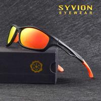 TR90 Polarized Sport Cycling Sunglasses Driving Fishing Mirrored Goggles UV400