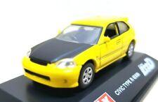 1/72 Real-X Initial D HONDA CIVIC TYPE R (EK9) Carbon Hood diecast car model