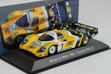 Porsche 956 LH #7 New Man Winner 24H Le Mans 1984 1:43 Spark Museum