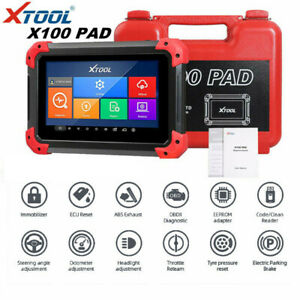 XTOOL X100 PAD Programmer Oil Rest Odo-meter EPB ABS EEPROM Diagnostic Scanner