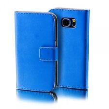 Funda Protectora Azul para Huawei Y6 Potada del libro Bolso Cartera Caso Caso