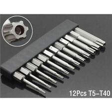 50 mm 8 Pcs OR 12 Pcs Set Security Tamper Proof Magnetic Screwdriver Bit