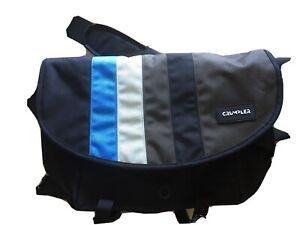 Crumpler Unisex Dinky Di Messenger Bag (Black/Blue, Size M)
