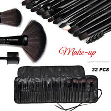 VANER 32PCS Pro Cosmetic Makeup Brush Set Powder Cosmetic Brushes Kit Bag Case