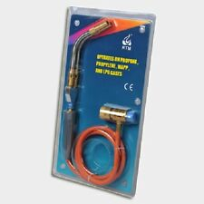 Turbo Torch Twin Mapp Gas Corded 1.2mtr Propane Rothenberg Ridgid Super Quality