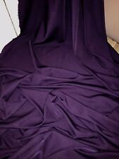 "25 MTR ROLL OF DARK PURPLE 100% POLYESTER LINING FABRIC...45"" WIDE £40"