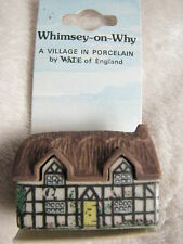 Wade Porzellan Figur, Whimsey-on-Why Nr.1 Pump Cottage, A Village in Porcelain
