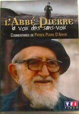 DVD L'ABBE PIERRE - LA VOIX DES SANS VOIX - Patrick POIVRE D'ARVOR