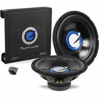 "Planet Audio Dual Amplified 1500W Amplified 12"" Subwoofer Bass Package"