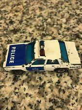 Vintage Matchbox 1987 Ford LTD Police car sheriff car VERY RARE !! Unique
