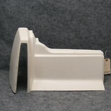 1989-1993 DeVille & Fleetwood LH Rear Vinyl Bumper Filler 1/4 Panel White 39680