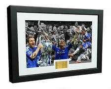 More details for signed lampard terry drogba chelsea champions league 2012 photograph picture