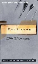 Fool Moon: The Dresden Files Book Two By Jim Butcher. 9781841493992