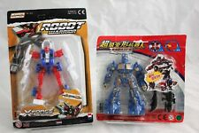 Transformer Knock offs - KO Optimus Prime & Robot Warriors - X Force Heroes