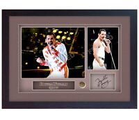 Freddie Mercury Queen signed autograph Music photo FRAMED print