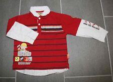 Schönes Hemd Shirt in rot Streifen mit Bob der Baumeister in Gr. 110 von C&A